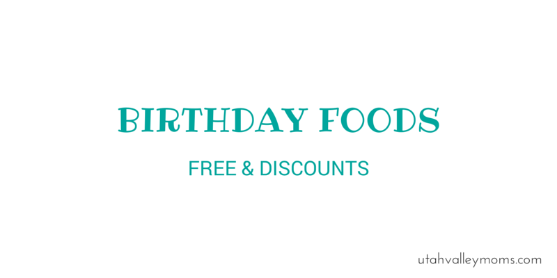 BIRTHDAY FOODS