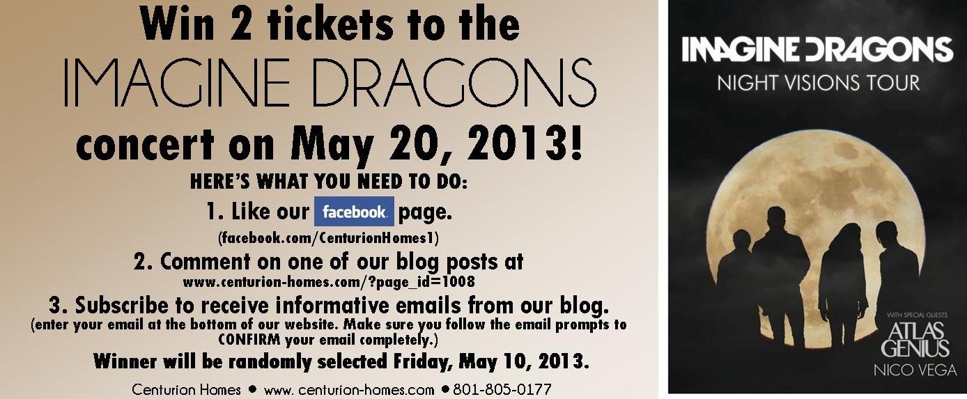 imagine dragons giveaway
