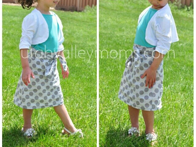 diy polka dot dress