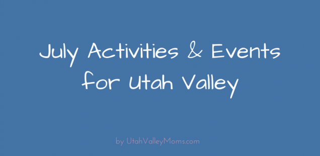 Utah Valley Moms Activities