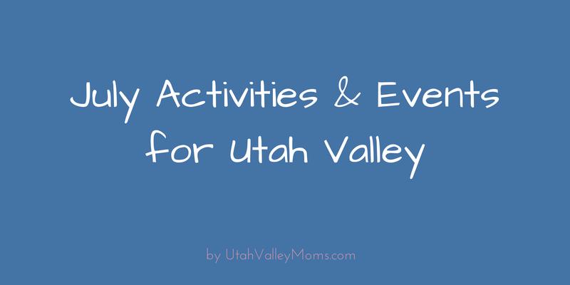 Utah Valley Moms Activities