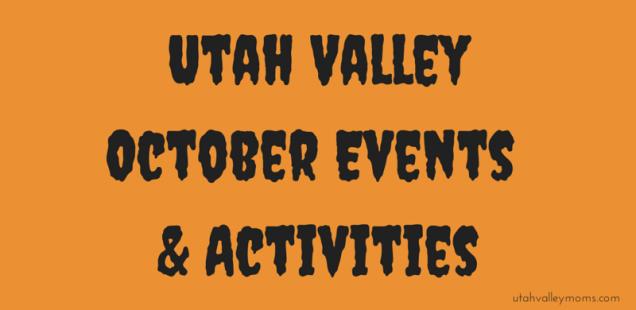 Utah County October Activities & Events