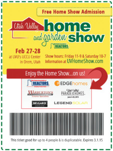 Free Tickets To The Home Garden Expo Utah Valley Moms