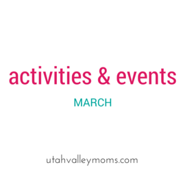 utah valley activities & events