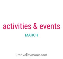 utah valley activities & events