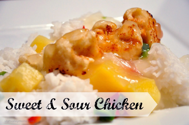 sweet sour chicken blog