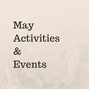 MayActivities&Events