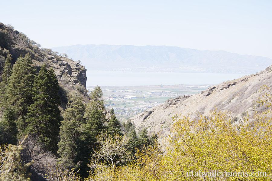 battle creek falls view