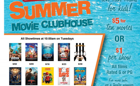 cinemark 2015 summer movies