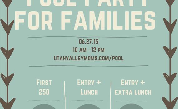 Utah Valley Pool Party
