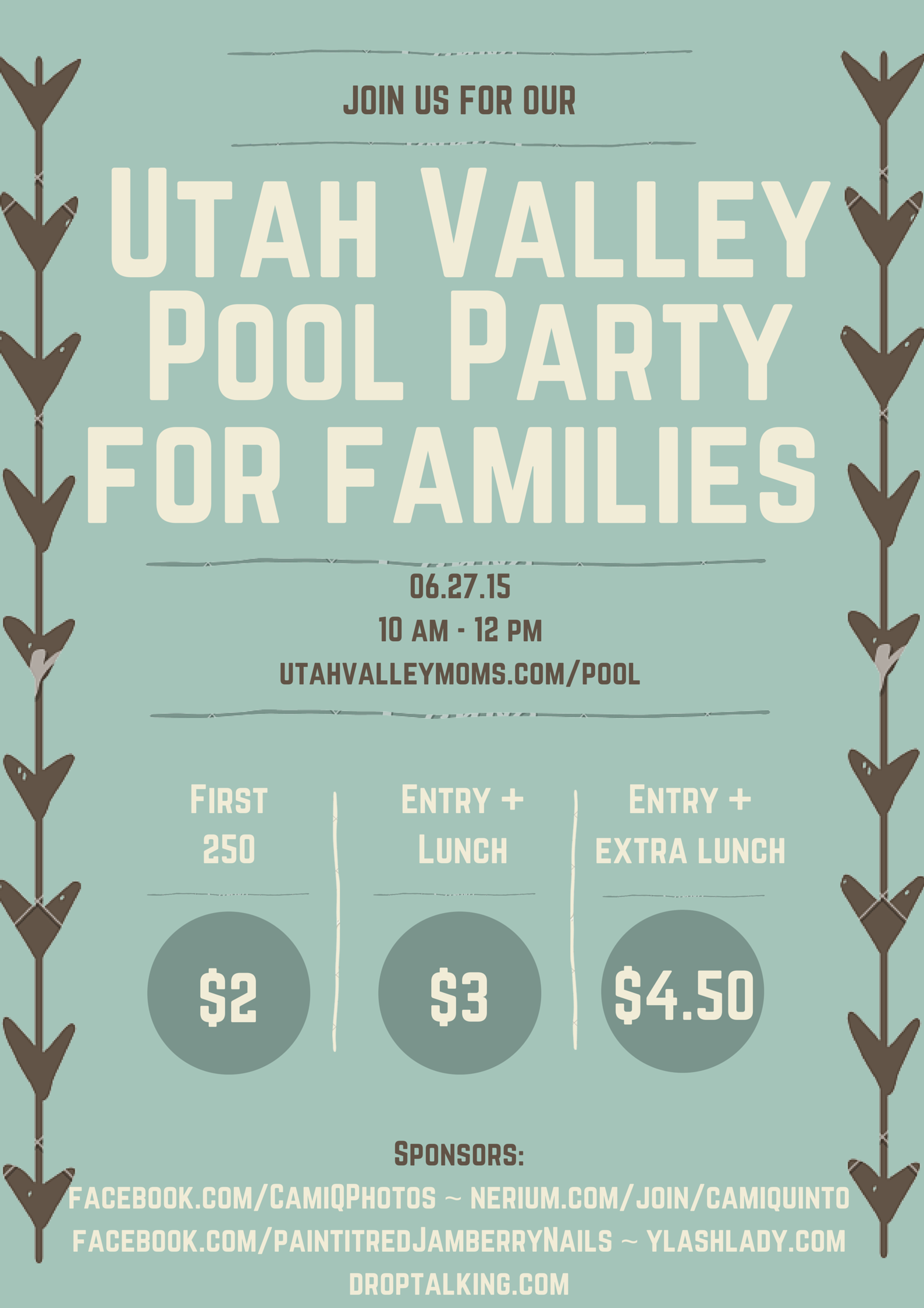 Utah Valley Pool Party
