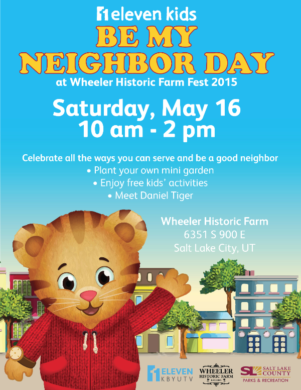 Be My Neighbor Day