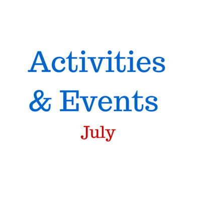 July activities & events
