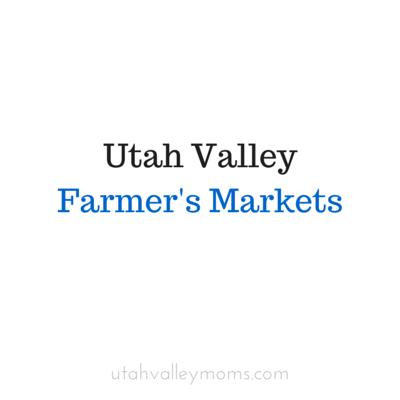 Utah Valley Farmers Markets