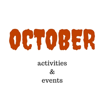 October events & activities