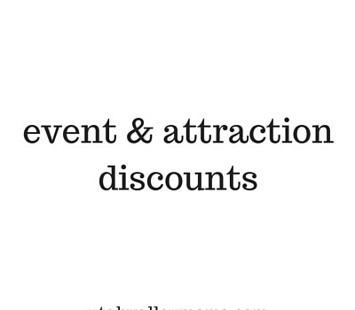 event & attraction discounts