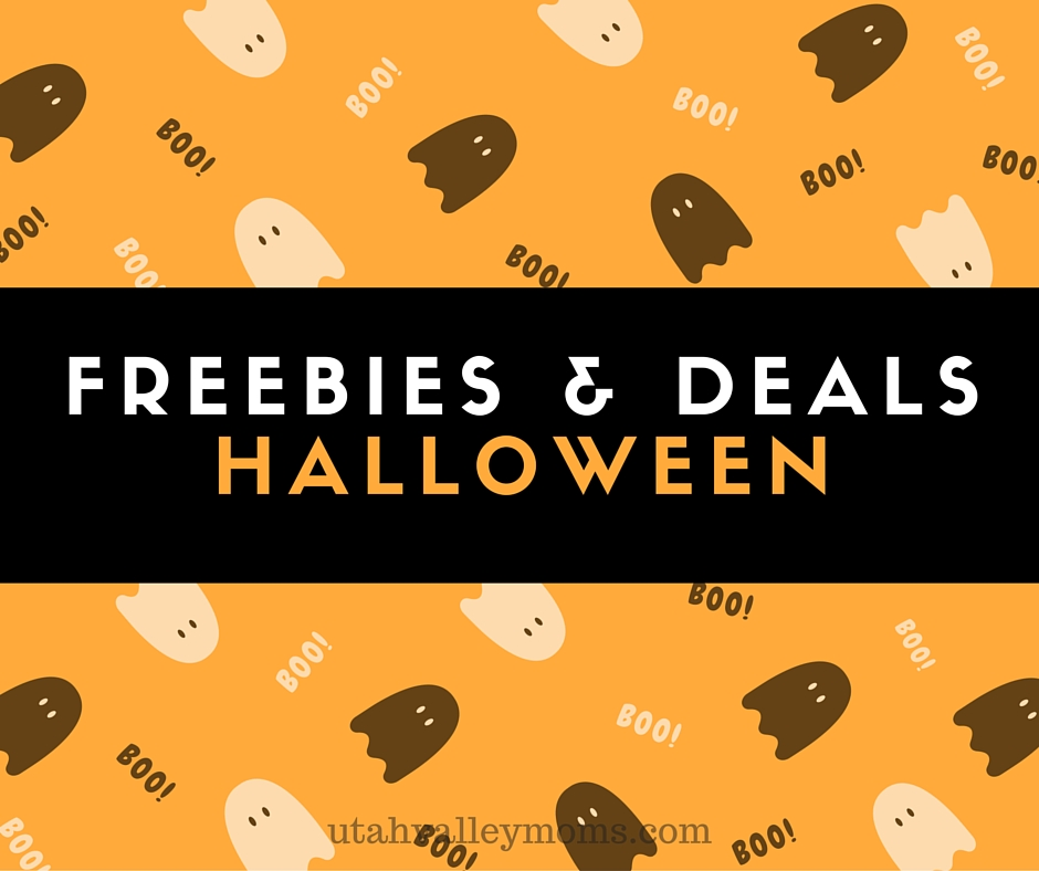 freebies & deals halloween