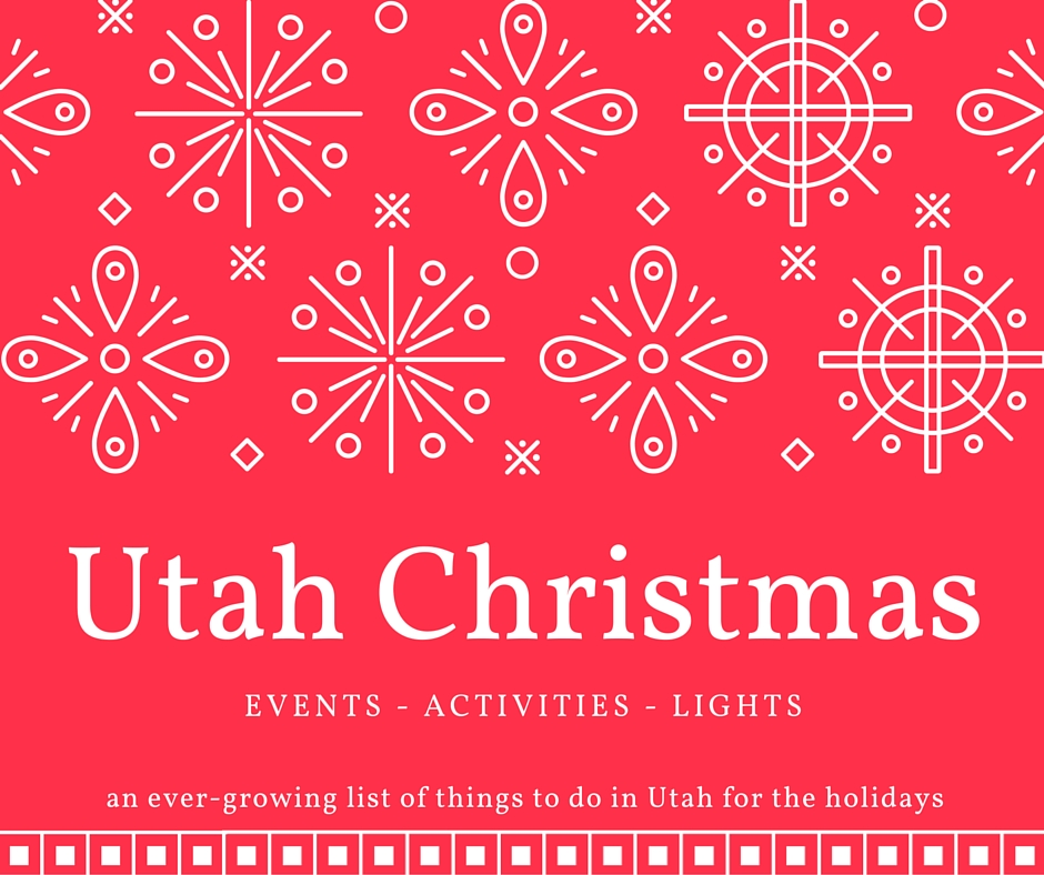 Utah County Christmas events