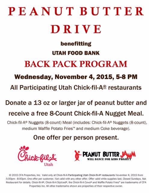 Free Chick-fil-A Meal with donation