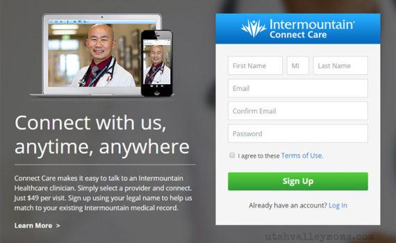 Intermountain Connect Care App