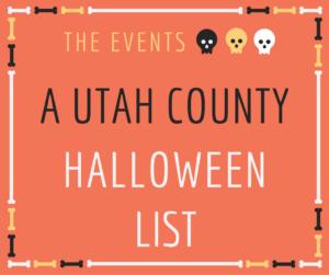 Utah County Halloween Events