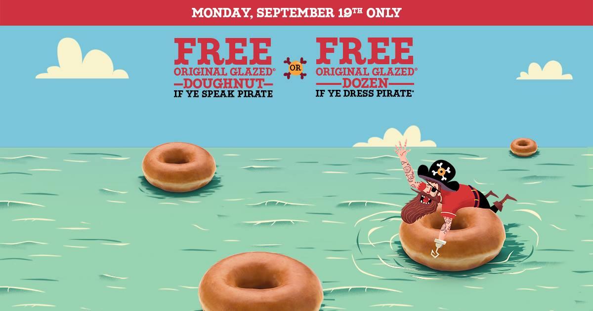 Free Krispy Kreme 2016