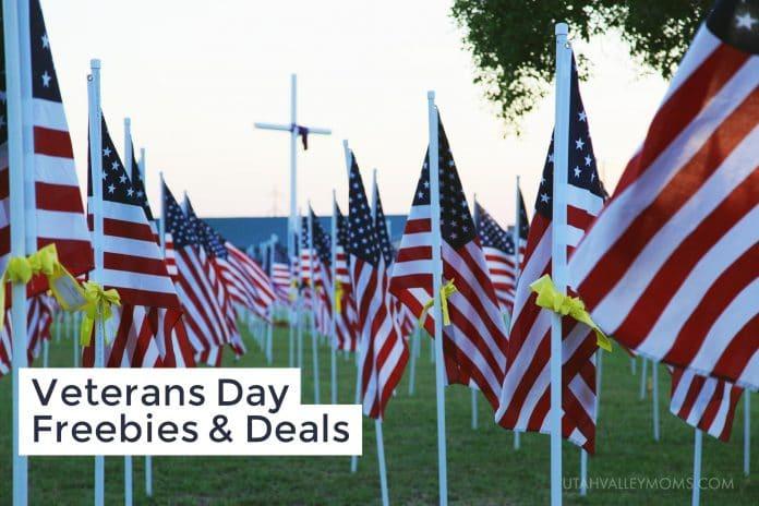 Veterans Day Freebies & Deals