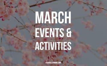 March activities & events in Utah County