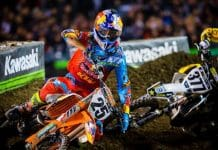 Supercross in Salt Lake City, Utah