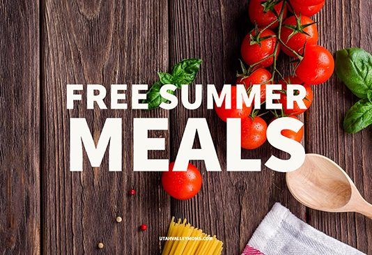 Free Summer Meals in Utah County