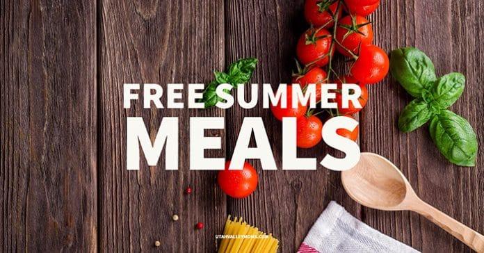 Free Summer Meals in Utah County