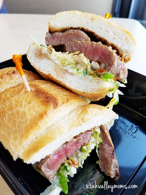 Tri-Tip Steak Sandwich