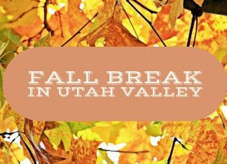 Fall Break in Utah Valley ideas