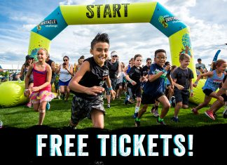 Free Tickets Kids Obstacle Course